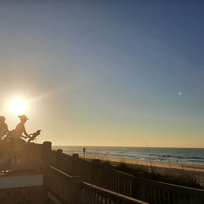 Sunrise sessions at the beach are the best way to start the day!