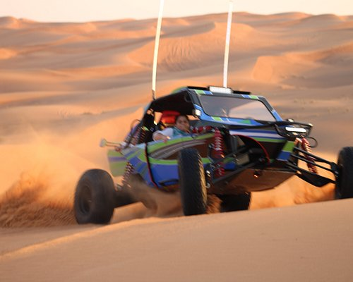 Experience the Self Drive of Buggy with the convoy leader and back up assistance