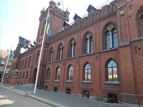 Landskrona Rådhus i Landskrona