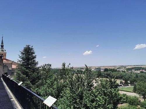 Vistas desde el Mirador de los Arcos.
