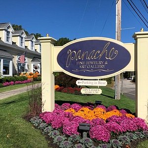 Celebrating 29 years! On-site parking while shopping Panache Fine Jewelry. 4 minute walk from center of Ogunquit!