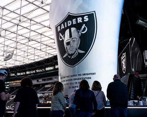 Led by expert hosts, this immersive, behind-the-scenes experience will take you through ultra-exclusive areas such as private suites and clubs, the Broadcast Booth, the Ubeo Press Conference Room, and Locker Rooms. You will get an up-close look at the Al Davis Memorial Torch and have the opportunity to step out onto the field!