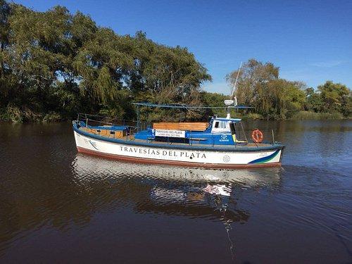 Nuestra embarcación Sudelmar