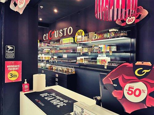 Bienvenue chez Cigusto ☁️ Votre boutique experts en Vapotage. E liquide, équipement, DIY since.2019