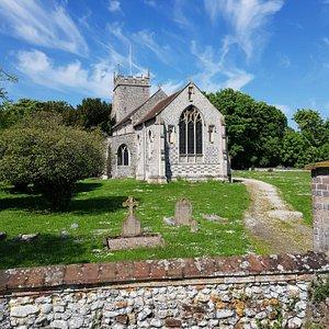 All Saints' Church, Burnham Thorpe. June 2021