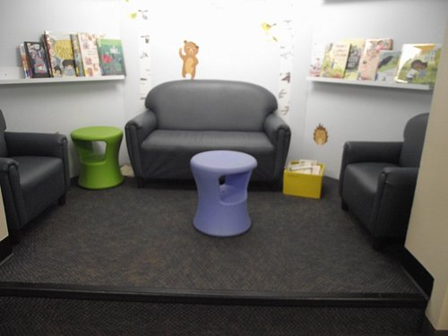 NH - DOVER - LIBRARY - CHILDREN'S ROOMS – ANOTHER SEATING AREA