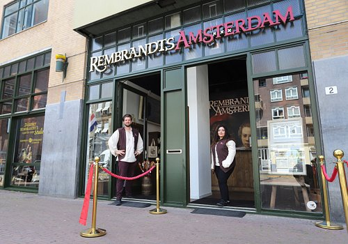 Entrance of Rembrandts Amsterdam