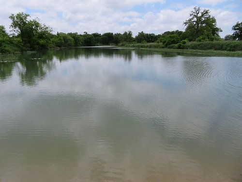 Stockpen Crossing Park, Menard, TX, May 2021