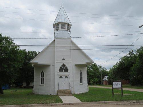 Historic 1904 Christian Church, Menard, TX, May 2021