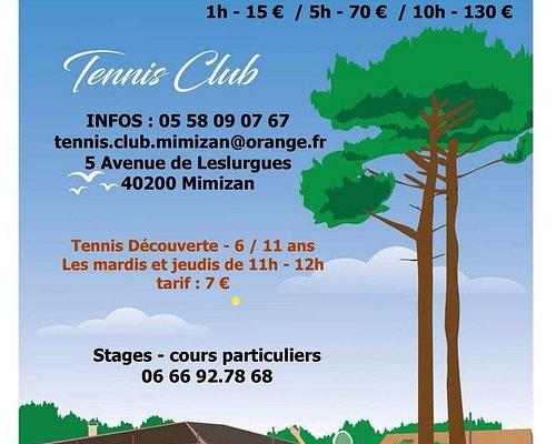Tennis club Mimizan - ouvert à tous