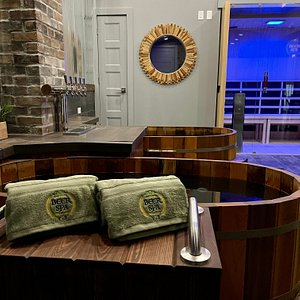 Beer soaking treatments and a cozy atmosphere