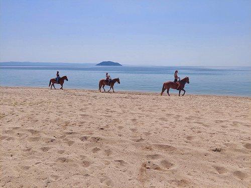 horse riding at Halkidiki