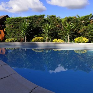 Our pool, notre piscine