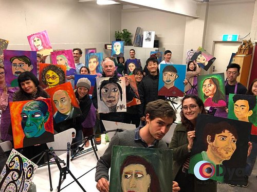 Are you searching for a fun, engaging way to spend with your special someone? Look no further than Painting Partners, a social art class where even total beginners learn to paint a beautiful portrait of their partner (can be family, friend or yourself!).