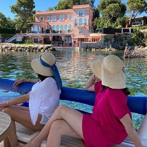 Private boat tour Villa La Fleur du Cap