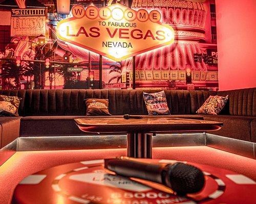 Karaoké privé à thème Vegas