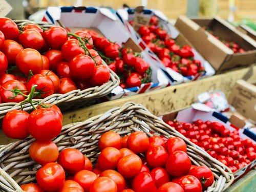 Range of Isle of Wight tomatoes