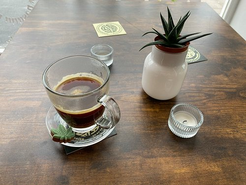 cbd infused coffee + cocktails