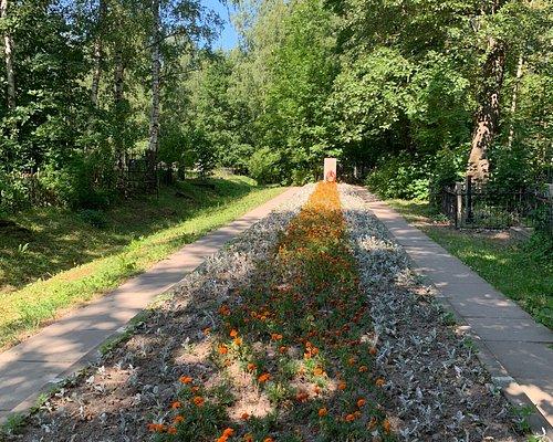 Территория бывшего Преображенского кладбища - территория кладбища Памяти жертв 9-го Января