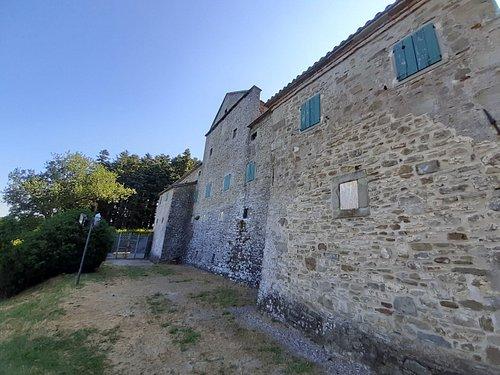 una vista esterna del Palazzo Comelli