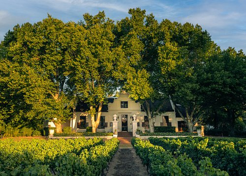 The Manor House at Nederburg in Paarl
