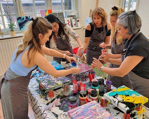Fluid Art B-day party