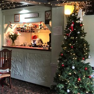 June 27th Christmas at the  white cottage restaurant  what a fantastic day