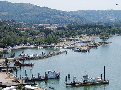 L'area del porto turistico