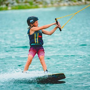 Wakeboarding at Gravity Island Watersports