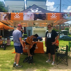 Local pet rescue and foster vendor. Nice people