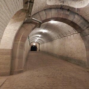 Traverse centrale du fort