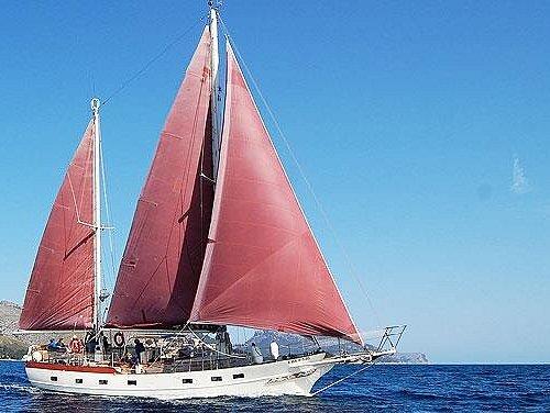 Tina Sailing