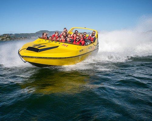 Speed & Spins around Lake Rotorua