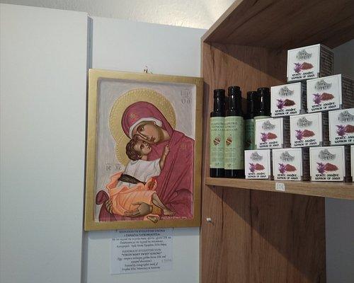 Saint Minas Church in Fira Santorini