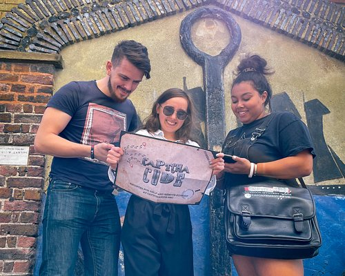 The makers of the award winning Escapement Escape Rooms bring to you Captcha Code! A first-of-it's-kind outdoor escape room meets treasure hunt!
