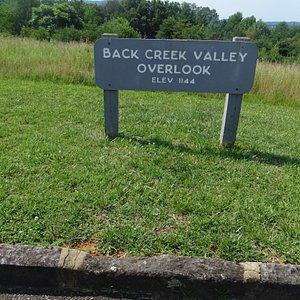 Back Creek Valley Overlook??