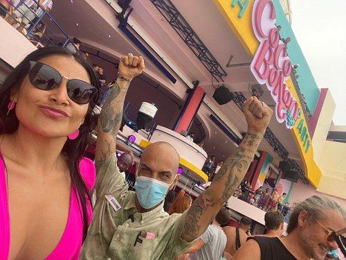 El Mejor Lugar Del Mundo en Mexico, Cancun  CoCo BonG0 By Beach Party,. Enjoy Con el MejoR Capitan💃🏼