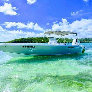 Le bateau, sur les fonds blancs