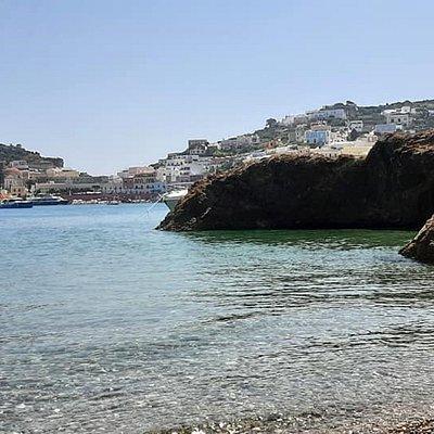 Spiaggia Giancos di mattina