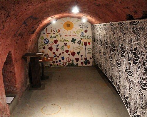 Interactive painting wall