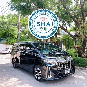 Luxury van car (Toyota Alphard)