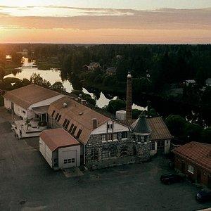 Kyrö Distillery is located in an old dairy built in 1908