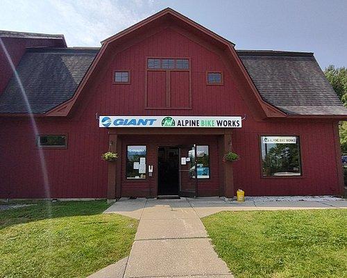 Our storefront in Killington, Vermont.