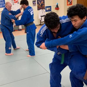 Judo Class for Adults and Teens.