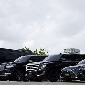 Luxurious and environmentally friendly fleet.