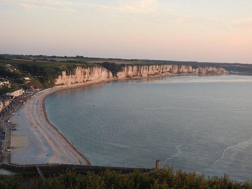 Fecamp promenade & coastline