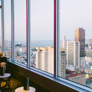 City-facing view at Cityscape Lounge