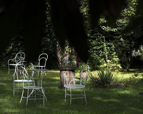 The famous garden at Rothmayer's Villa.