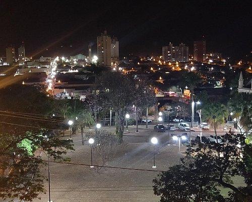 Vista do mirante do Museu de arte sacra e diversidade religiosa de Olímpia, SP.