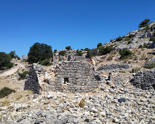 Old Traditional Settlement of Vrachonas. About 10 klm from Sivota...